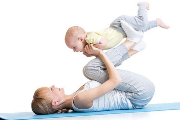 fit mama i dziecko trening dla mamy z dzieckiem