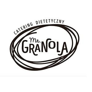 logo catering dietetyczny mr. granola