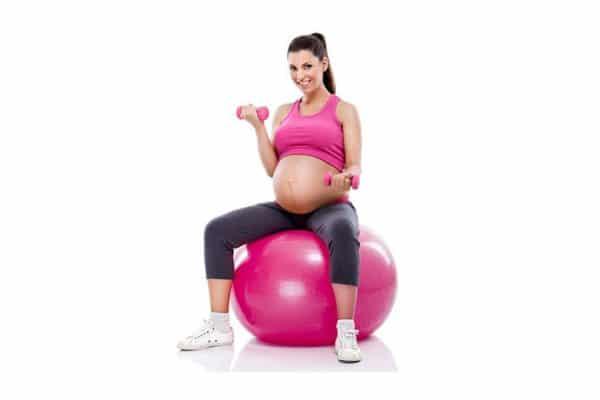 kobieta w ciąży ćwiczenia klub fitness pabianice