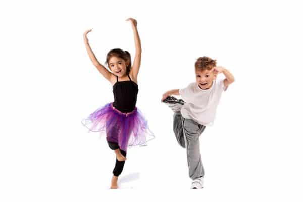 dzieci taniec, kurs tańca dla dzieci pabianice, strefa ruchu