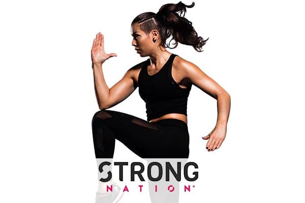 kobieta fitness trening strong strefa ruchu pabianice