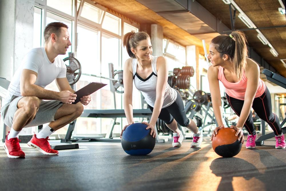 trening personalny w dwie osoby, klub fitness pabianice