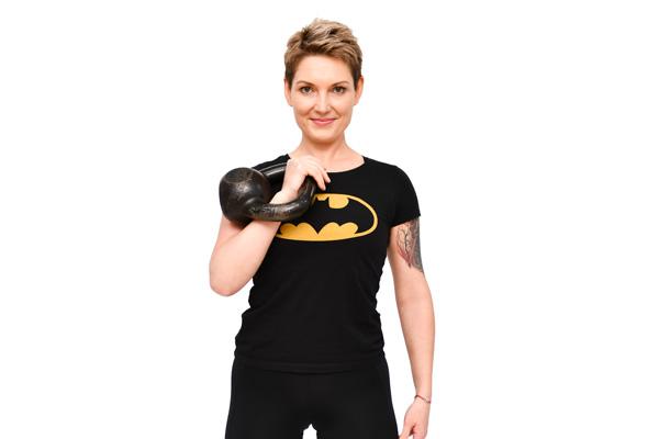 Ewa Nowak, Instruktor fitness, trening personalny, Kettlebells, strefa ruchu Pabianice