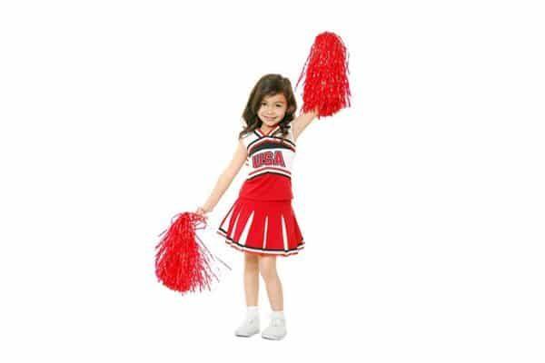 cheerleaderka, dziecko, zajęcia dla dzieci pabianice, strefa ruchu